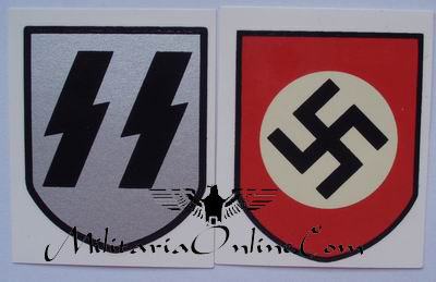 WW2 German Water Transfer Decals - SS