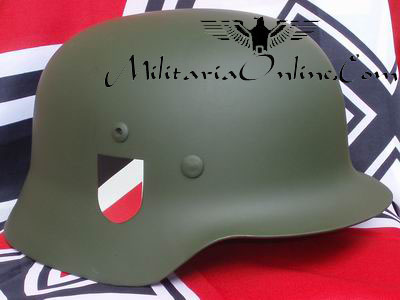 WW2 German Heer / Army / Wehrmacht M35 Helmet Decals Complete