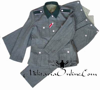 WW2 German M36 Field Tunic Unform Including Trousers - Click Image to Close