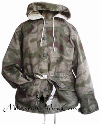 WW2 German Water & Tan Winter Reversible Parka