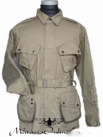 WWII US M42 Airborne Jump Uniform with Trousers